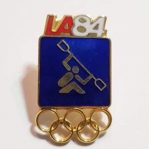 Accessories - Rowing Olympic Pins 1984 Los Angeles pin